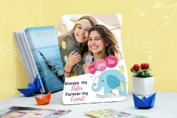 I love you sister customized gifts